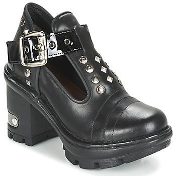 Cipők Női Bokacsizmák New Rock DEZDO Fekete