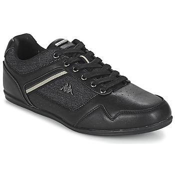 Shoes Férfi Rövid szárú edzőcipők Kappa BRIDGMANI Fekete