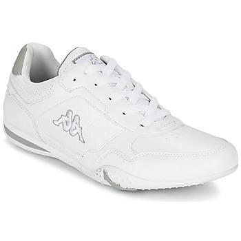 Shoes Férfi Rövid szárú edzőcipők Kappa SPIRIDO Fehér