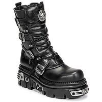 Cipők Csizmák New Rock NEMESIS Fekete