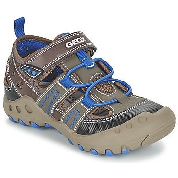 Shoes Lány Szandálok / Saruk Geox J SAND.KYLE A Barna