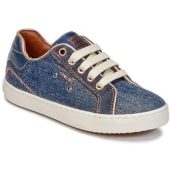Cipők Lány Magas szárú edzőcipők Geox J KIWI G. B Farmer