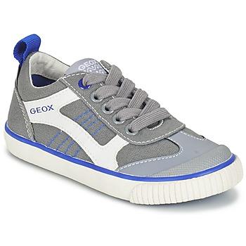 Shoes Fiú Rövid szárú edzőcipők Geox J KIWI B. J Szürke