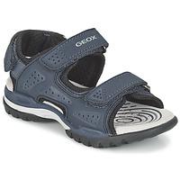 Shoes Fiú Sportszandálok Geox J BOREALIS B. B Tengerész