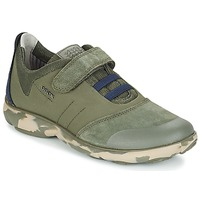 Cipők Gyerek Rövid szárú edzőcipők Geox J NEBULA B. A Camo