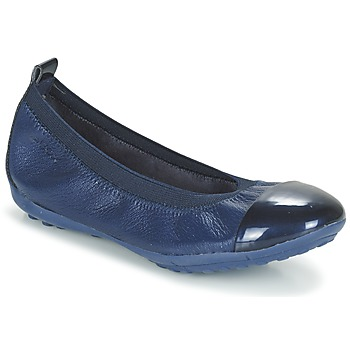 Cipők Lány Balerina cipők  Geox J PIUMA BALL B Tengerész