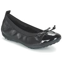 Cipők Lány Balerina cipők / babák Geox J PIUMA BAL F Fekete