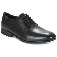 Cipők Férfi Oxford cipők Rockport SC PLAIN TOE Fekete