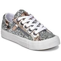 Shoes Lány Rövid szárú edzőcipők Kaporal AMBERA Ezüst