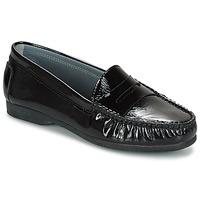 Cipők Női Mokkaszínek Arcus DAME Fekete