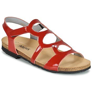 Cipők Női Szandálok / Saruk Arcus BERNER Piros
