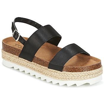 Cipők Női Szandálok / Saruk Coolway KOALA Fekete