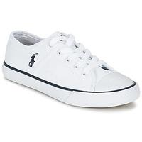Cipők Gyerek Rövid szárú edzőcipők Ralph Lauren DYLAND Fehér