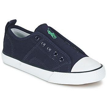 Cipők Fiú Rövid szárú edzőcipők Ralph Lauren RYLAND Tengerész