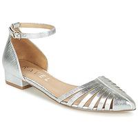 Cipők Női Balerina cipők / babák Ravel MEDINA Ezüst