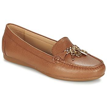 Cipők Női Mokkaszínek MICHAEL Michael Kors SUKI MOC Barna