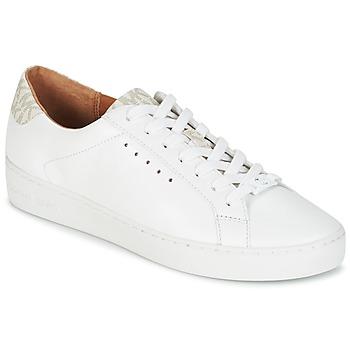 Cipők Női Rövid szárú edzőcipők MICHAEL Michael Kors IRVING LACE UP Fehér