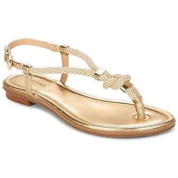 Cipők Női Szandálok / Saruk MICHAEL Michael Kors HOLLY Arany