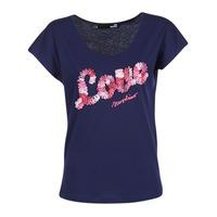 Ruhák Női Rövid ujjú pólók Love Moschino W4G4127 Kék
