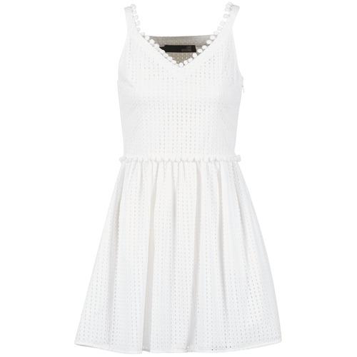 Ruhák Női Rövid ruhák Love Moschino WVF3880 Fehér