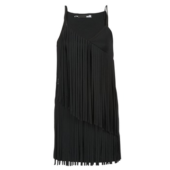 material Női Rövid ruhák Love Moschino W595800 Fekete