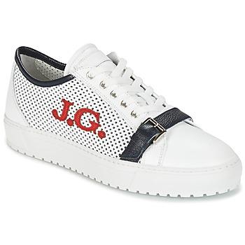 Cipők Férfi Rövid szárú edzőcipők John Galliano 2477CA Fehér
