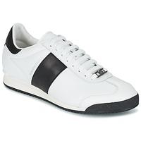 Cipők Férfi Rövid szárú edzőcipők Roberto Cavalli 2042C Fehér / Fekete
