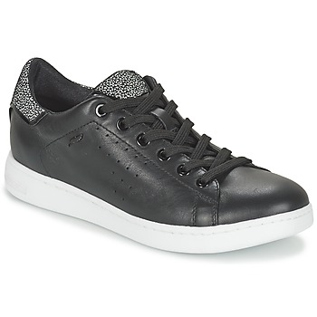 Cipők Női Rövid szárú edzőcipők Geox JAYSEN A Fekete