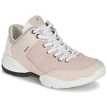 Cipők Női Rövid szárú edzőcipők Geox SFINGE A Rózsaszín