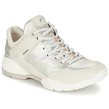 Shoes Női Rövid szárú edzőcipők Geox SFINGE A Fehér