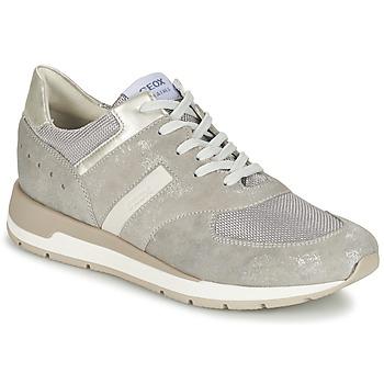 Shoes Női Rövid szárú edzőcipők Geox SHAHIRA A Szürke