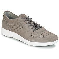 Cipők Férfi Rövid szárú edzőcipők Geox BRATTLEY A Szürke