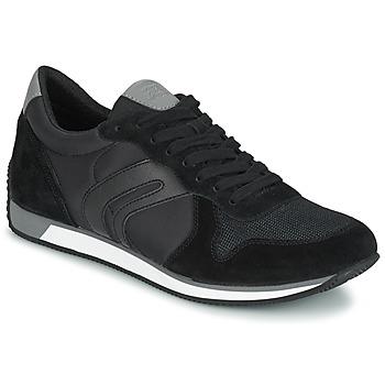 Shoes Férfi Rövid szárú edzőcipők Geox VINTO C Fekete