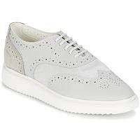 Cipők Női Rövid szárú edzőcipők Geox THYMAR B Szürke