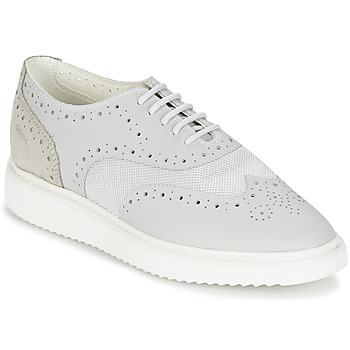 Shoes Női Rövid szárú edzőcipők Geox THYMAR B Szürke