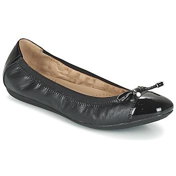 Shoes Női Balerina cipők / babák Geox D LOLA 2FIT C Fekete