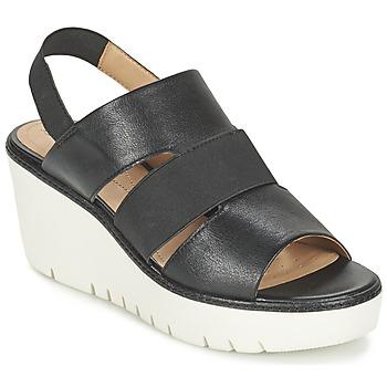 Shoes Női Szandálok / Saruk Geox D DOMEZIA B Fekete