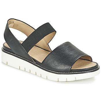 Shoes Női Szandálok / Saruk Geox D DARLINE C Fekete