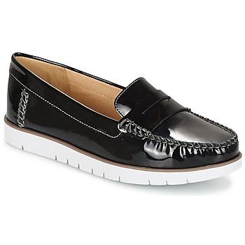 Shoes Női Oxford cipők Geox D KOOKEAN F Fekete