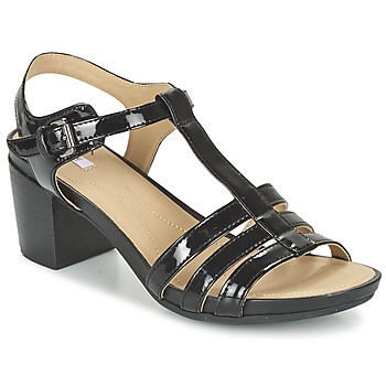 Shoes Női Szandálok / Saruk Geox D SYMI C Fekete