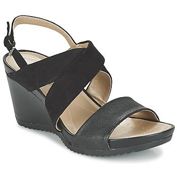 Shoes Női Szandálok / Saruk Geox D NEW RORIE A Fekete