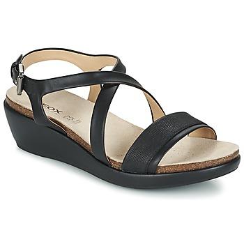 Shoes Női Szandálok / Saruk Geox D ABBIE A Fekete