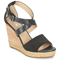 Shoes Női Szandálok / Saruk Geox D JANIRA E Fekete