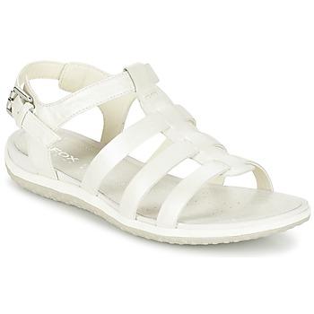 Cipők Női Szandálok / Saruk Geox D SAND.VEGA A Fehér