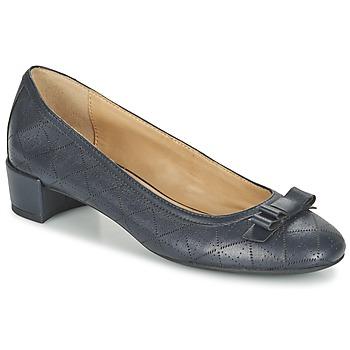 Cipők Női Balerina cipők / babák Geox D CAREY A Tengerész