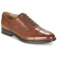 Shoes Férfi Bőrcipők Geox U HAMPSTEAD C Konyak