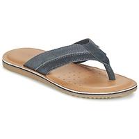 Cipők Férfi Lábujjközös papucsok Geox U ARTIE B Tengerész