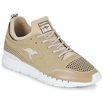 Cipők Rövid szárú edzőcipők Kangaroos COIL 2.0 MONO Bézs