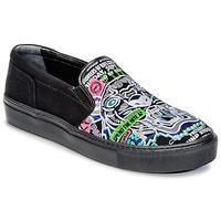 Cipők Női Belebújós cipők Kenzo K-SKATE Fekete