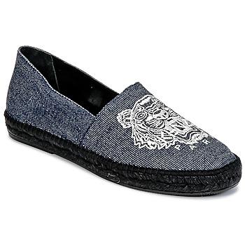Shoes Férfi Gyékény talpú cipők Kenzo SLIT Kék